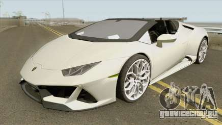 Lamborghini Huracan Evo Spyder 2020 для GTA San Andreas