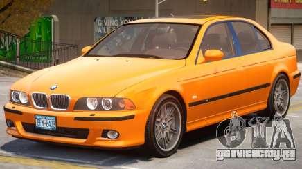 BMW M5 E39 V1.2 для GTA 4