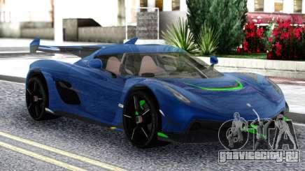 Koenigsegg Jesko 2019 Racing для GTA San Andreas