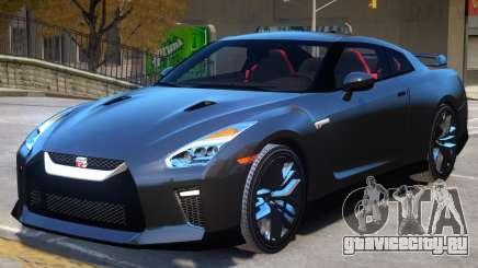Nissan GTR Premium V2 для GTA 4