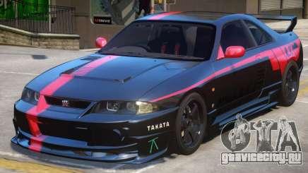 Nissan Skyline GTR PJ2 для GTA 4