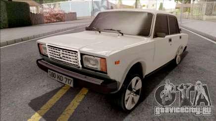 ВАЗ 2107 Mezik 717 Style для GTA San Andreas