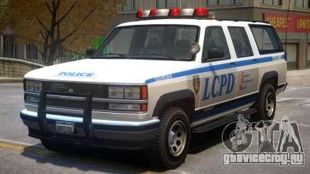Declasse Granger Police V2 для GTA 4