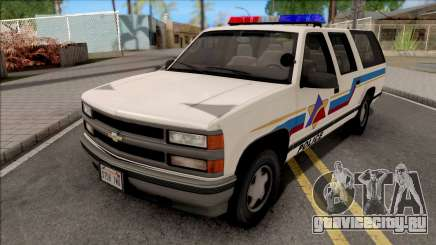 Chevrolet Suburban 1992 Hometown Police для GTA San Andreas