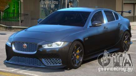 Jaguar XE SV Project 8 для GTA 4