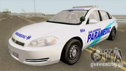 Chevrolet Impala 2012 (San Andreas Ambulance) для GTA San Andreas