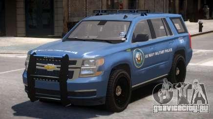 Chevrolet Tahoe Military Police для GTA 4