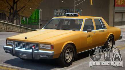 Chevrolet Caprice Taxicar для GTA 4