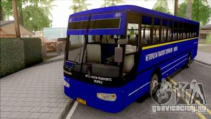 Metropolitan Trans Wilofield Blue Bus для GTA San Andreas