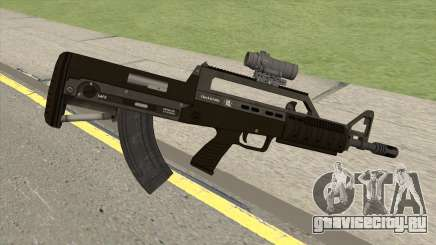 Bullpup Rifle (With Scope V1) GTA V для GTA San Andreas
