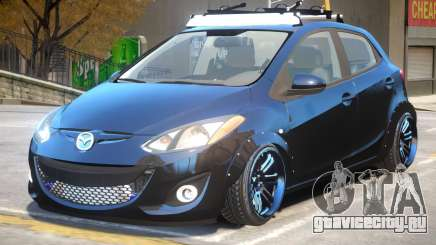 Mazda 2 V1.1 для GTA 4