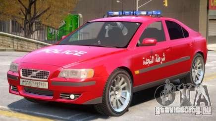 Volvo S60 Police Syrian для GTA 4