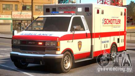 Schottler Ambulance Service для GTA 4