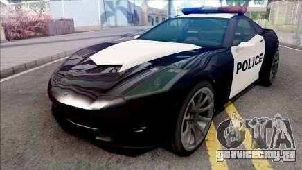 Invetero Coquette Police для GTA San Andreas