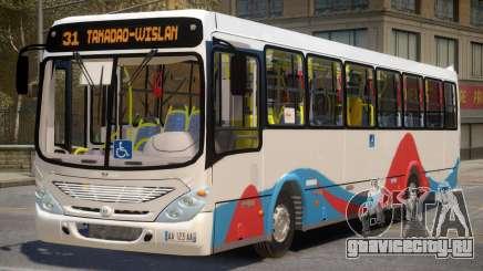 Morocan Meknes Bus для GTA 4