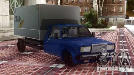 ВАЗ 2107 Грузовой для GTA San Andreas