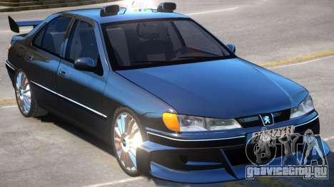 Taxi Peugeot 406 для GTA 4