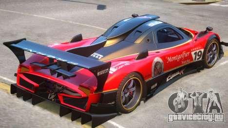 Pagani Zonda R PJ3 для GTA 4