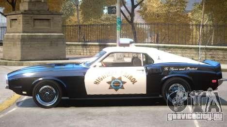 1969 Shelby GT500 Police для GTA 4