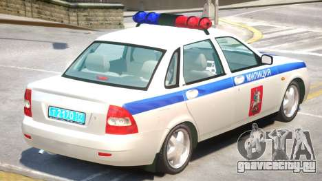 Lada Priora Police для GTA 4