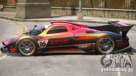 Pagani Zonda R PJ2 для GTA 4