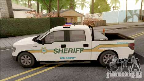 Ford F-150 2013 Red County Sheriff Office для GTA San Andreas
