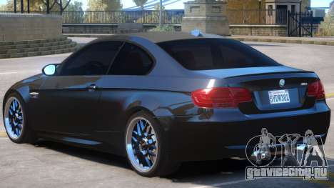 BMW M3 E92 Upd для GTA 4