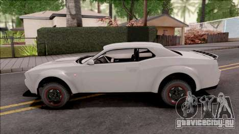 GTA V Bravado Gauntlet Hellfire SA Style для GTA San Andreas