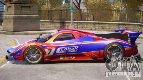 Pagani Zonda R PJ1 для GTA 4