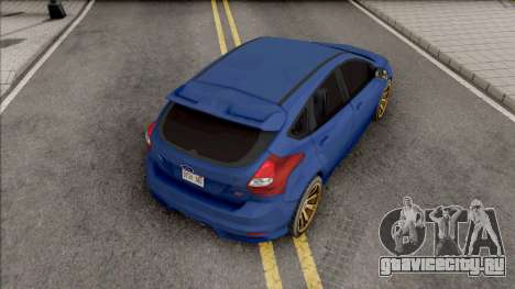 Ford Focus ST 2019 Low Poly для GTA San Andreas