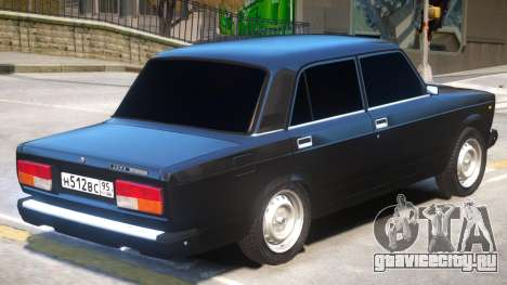 VAZ 2107 V1 для GTA 4