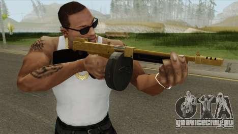 Edinburgh Gusenburg Sweeper GTA V (Gold) V1 для GTA San Andreas