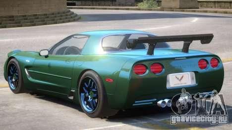2002 Chevrolet Corvette для GTA 4