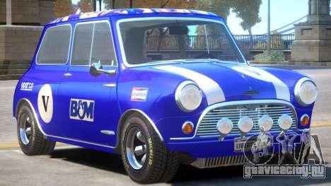 Mini Cooper V1 PJ5 для GTA 4