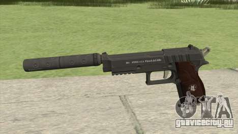 Hawk And Little Pistol GTA V Black (New Gen) V6 для GTA San Andreas