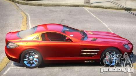 Mercedes Benz SLR V1.1 для GTA 4