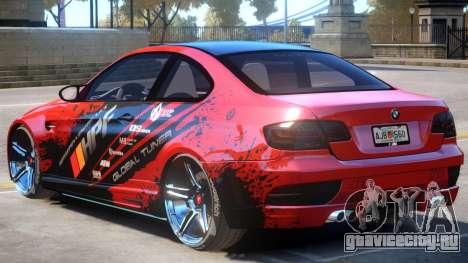 BMW M3 V1 PJ1 для GTA 4
