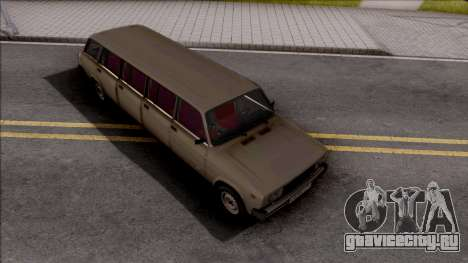 ВАЗ 2104 Limousine for Full CJ Gang для GTA San Andreas