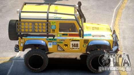 Land Rover Defender V2 для GTA 4