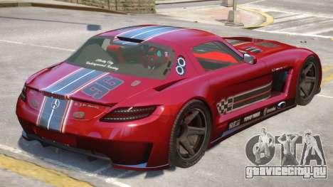 Mercedes Benz SLS V1.1 для GTA 4
