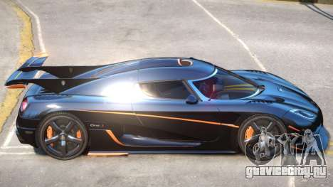 Koenigsegg One Improved для GTA 4