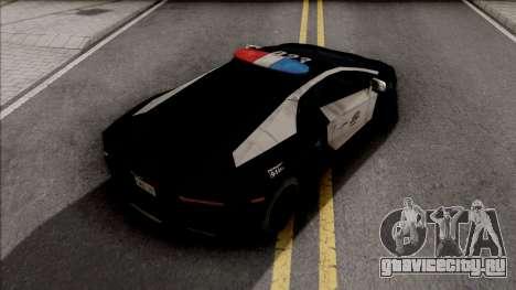 Lamborghini Aventador LAPD для GTA San Andreas