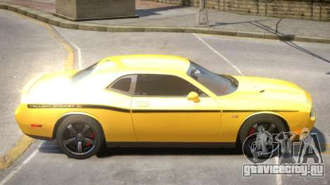 Dodge Challenger SRT V1.1 PJ1 для GTA 4
