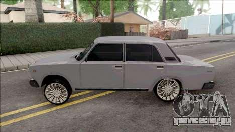 ВАЗ 2107 Mekhtiyev423 Style для GTA San Andreas