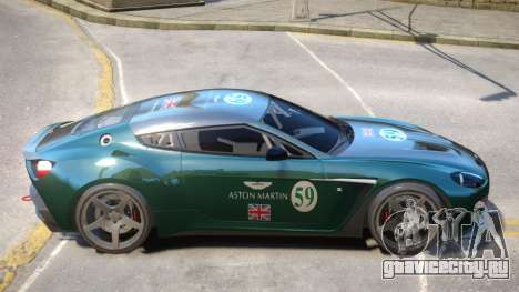 Aston Martin Zagato V1 PJ2 для GTA 4