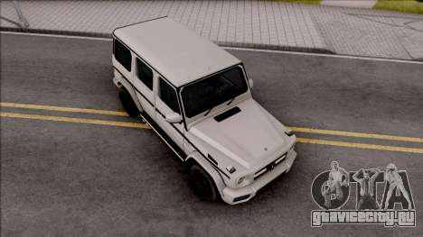 Mercedes-Benz G65 AMG Low Poly для GTA San Andreas
