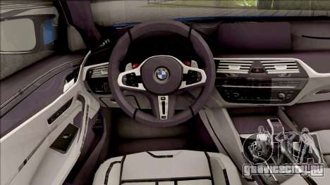 BMW M5 F90 2018 для GTA San Andreas