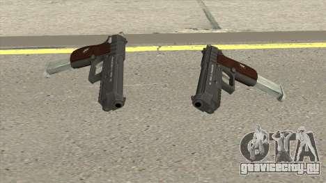 Hawk And Little Pistol GTA V Black (New Gen) V2 для GTA San Andreas
