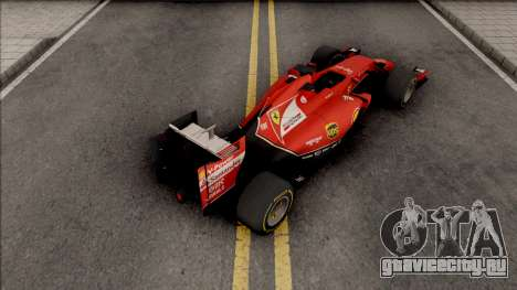 Ferrari F14 T F1 2014 для GTA San Andreas