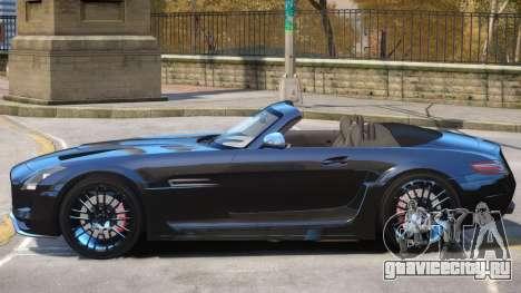 Mercedes Benz SLS Rodster для GTA 4